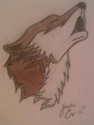 Tattoo Wolf by Ayame-Wolfhowl