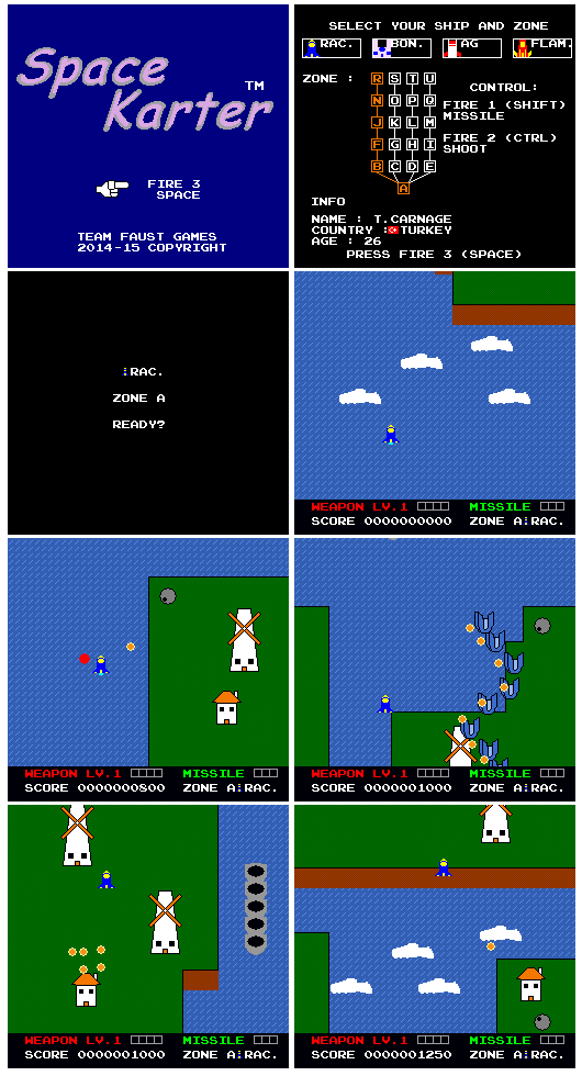 Space Karter 8-Bit is Released by TeamFaustGames