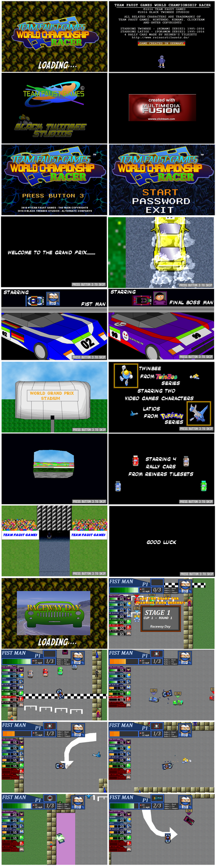 TFG - World Championship Racer - Released by TeamFaustGames