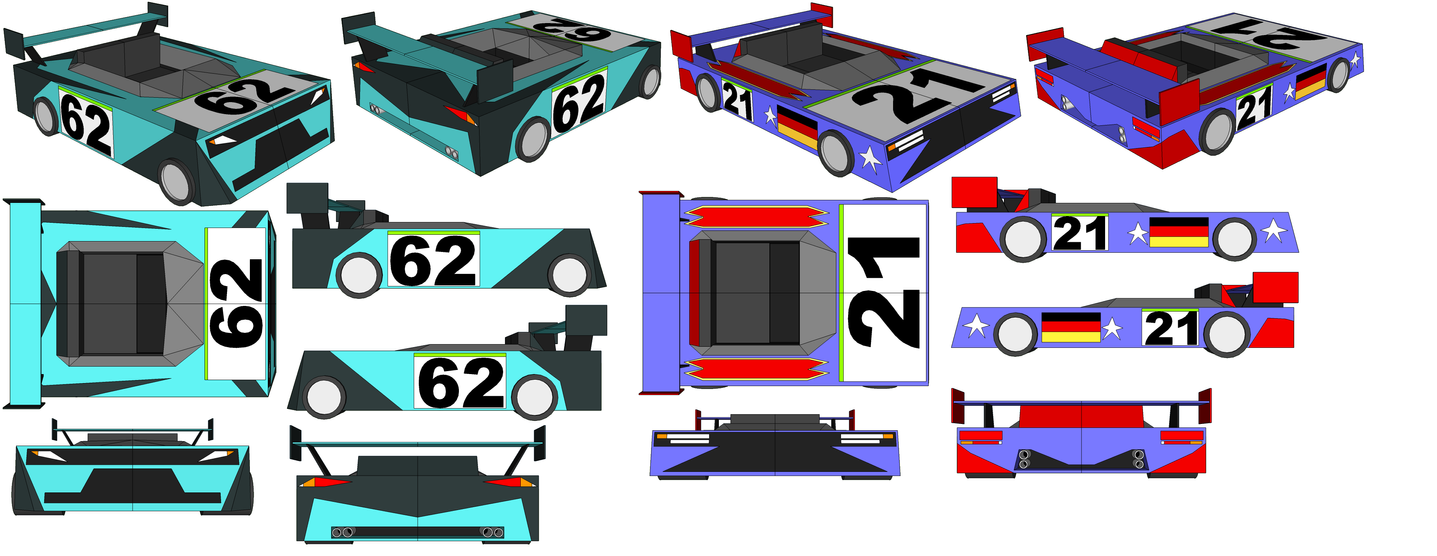 SketchUp - Jack Turner's Car and Brocken's Car by TeamFaustGames