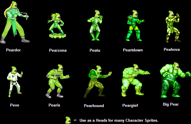Sprite Edits - Lolwut by TeamFaustGames