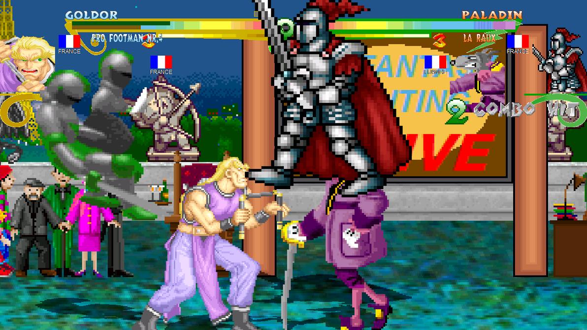 M.U.G.E.N TFGAF Special - Random Screenshot 201 by TeamFaustGames