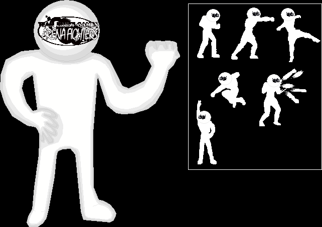 Character - TFGAF Template (TFGAF Man) by TeamFaustGames