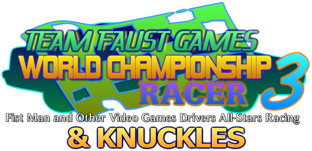 TFGWCR3 and Knuckles - Logo by TeamFaustGames