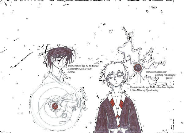 Naruto, Hitokiri Battousai by Seishuryumaru