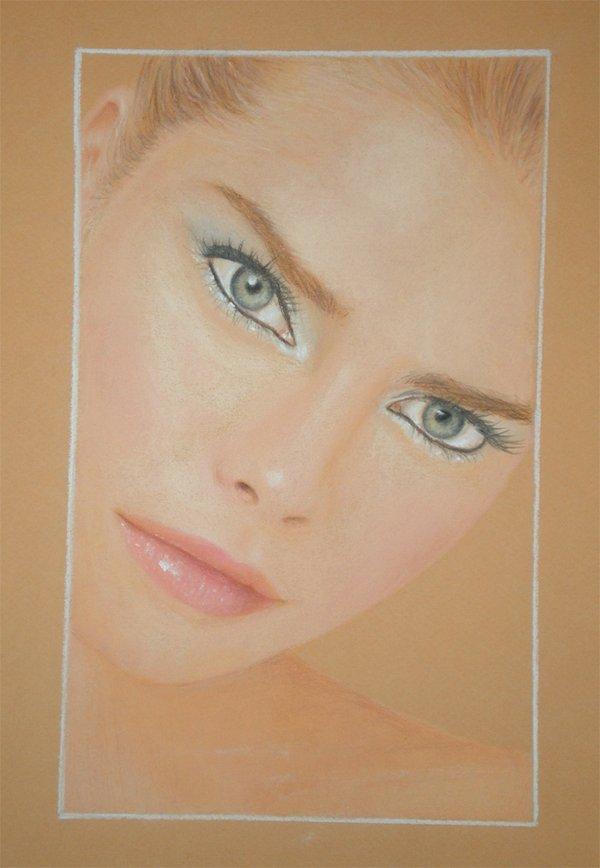 Modelo de maquillaje by DynastJC