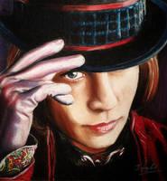 Willy Wonka by DynastJC