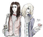 Louis and Lestat from The Vampire Chronicles