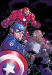 Avengers EndGame Colors