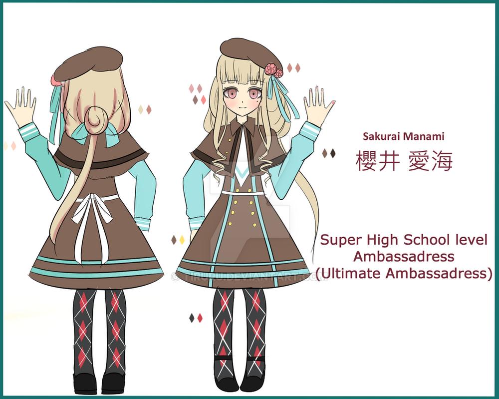 Shsl Fashion Girl Hiyoko