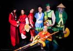 Group Avatar cosplay