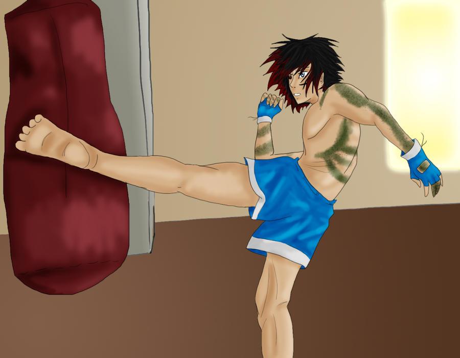 Kickboxing by AnimeVSReality