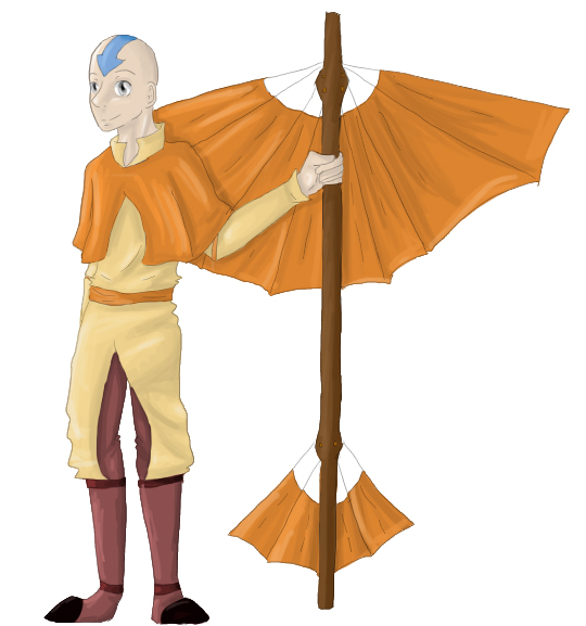 Aang by AnimeVSReality