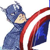 iScrib. Capt. America by AnimeVSReality