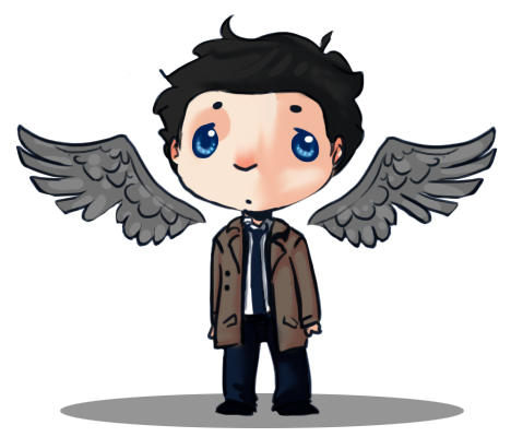 Castiel by AnimeVSReality