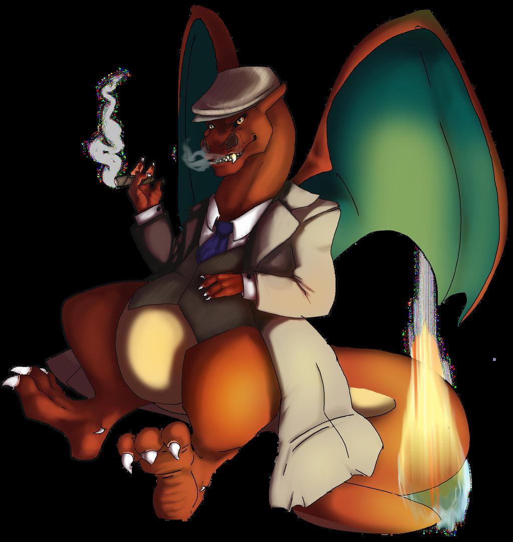 Mafia Charizard by AnimeVSReality