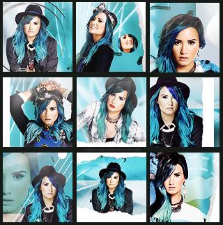 Demi Lovato Icon Set by omgolivia123
