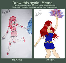 Draw this again! meme by Sorfiwien