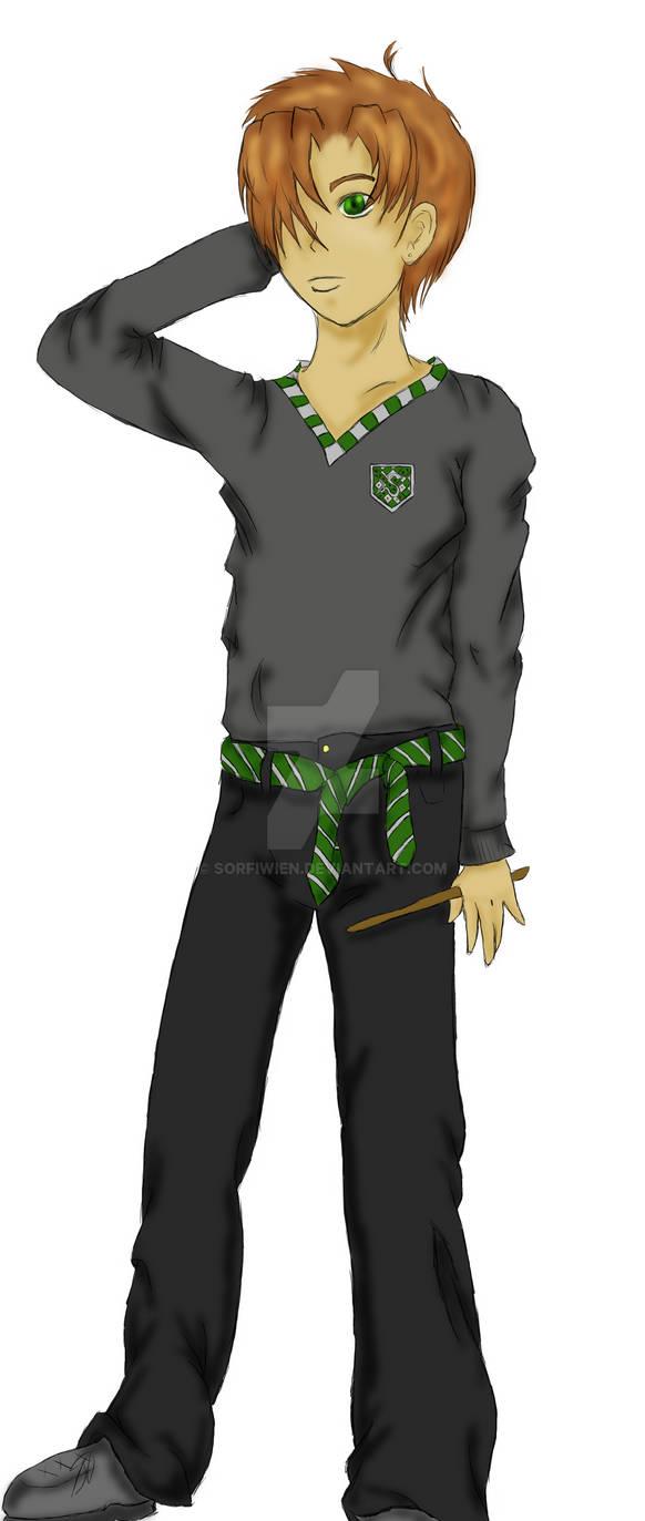 Lionel Cross - Harry Potter OC Contest entry