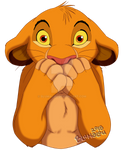 Simba Said a Bad Language Word in Front of His Mom