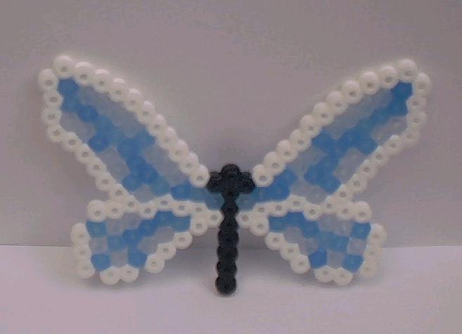 Perler Bead dragonfly by snowy-wolf