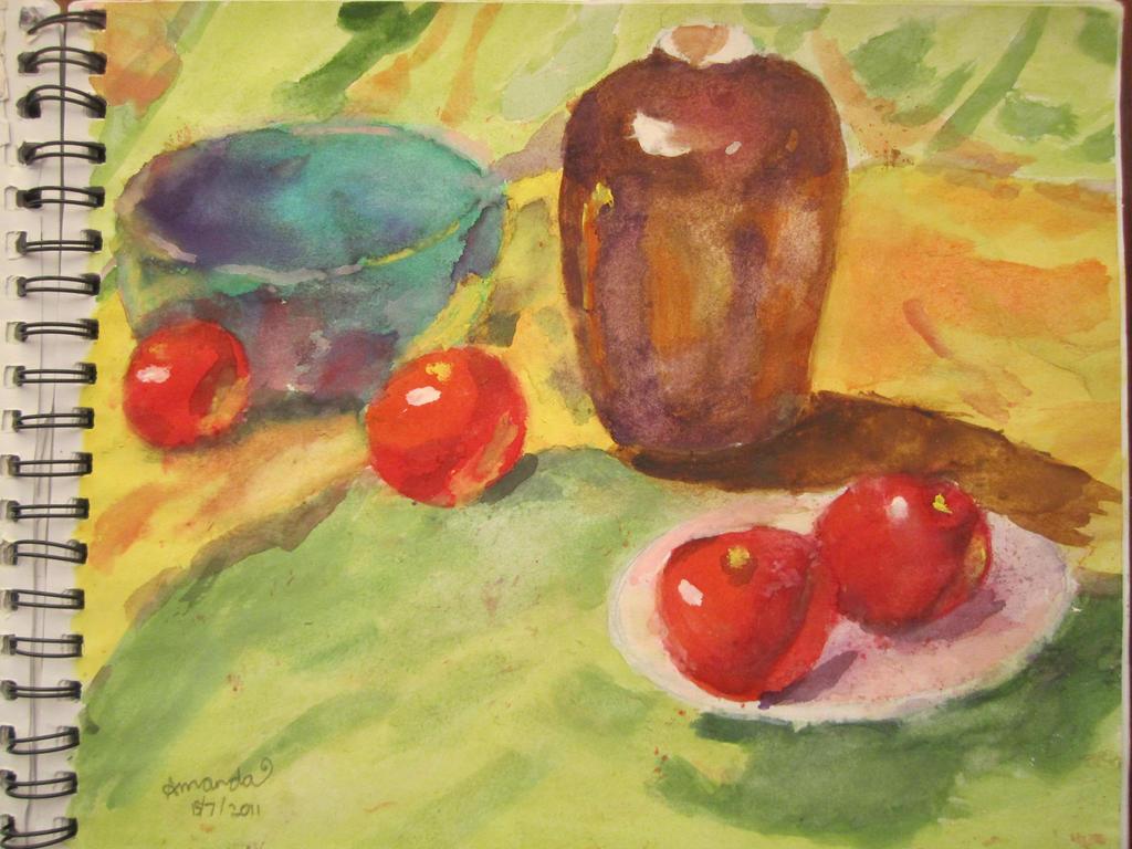 Colourful Fruit by rukibii