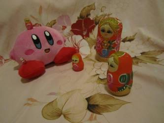 Kirby is cute isn't he?