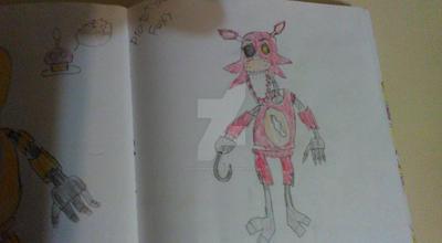 prototype foxy by DARTHSPRINGTRAP