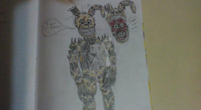 Nightmare Springtrap by DARTHSPRINGTRAP