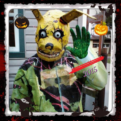 my springtrap costume that i made last halloween by darthspringtrap