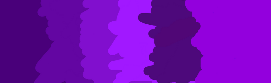 different shades of purple by whitemoon4986 on deviantart