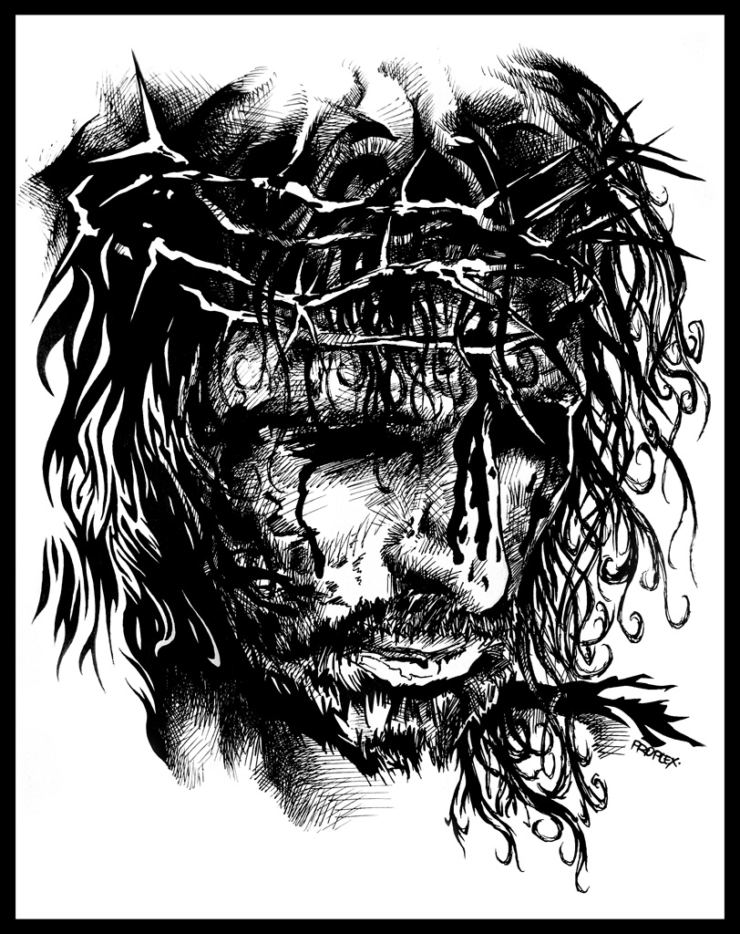 Jesus Christ by xlorite on DeviantArt