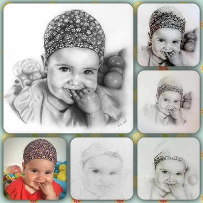 Progress of making 'Mia'  by lanadj07