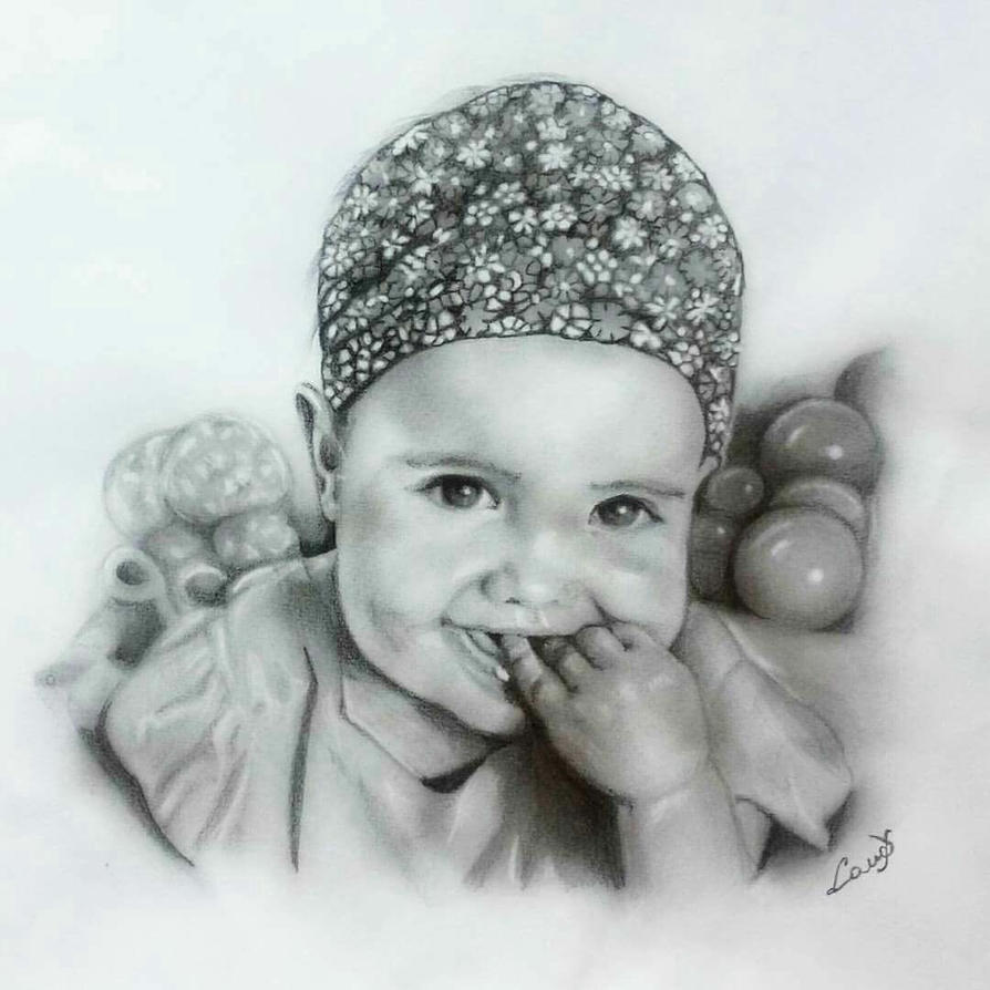 'Mia' my lovely granddaughter  by lanadj07