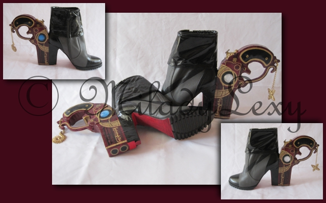 Bayonetta's Heels by MiladyLexy