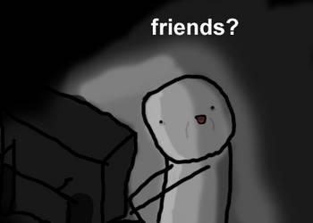 friends? by JonathanHazard