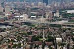 Aerial view: Charlestown