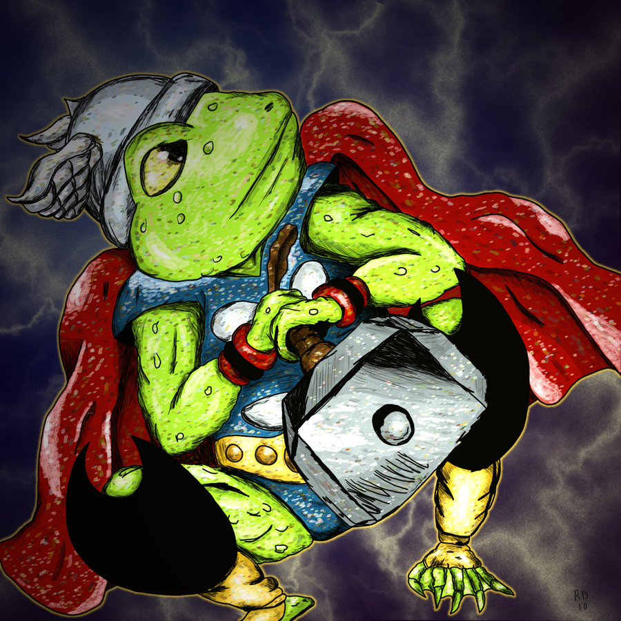 Part 14 / 10 Culumon__Thor__Frog_of_Thunder_by_ComicArtistsUnite