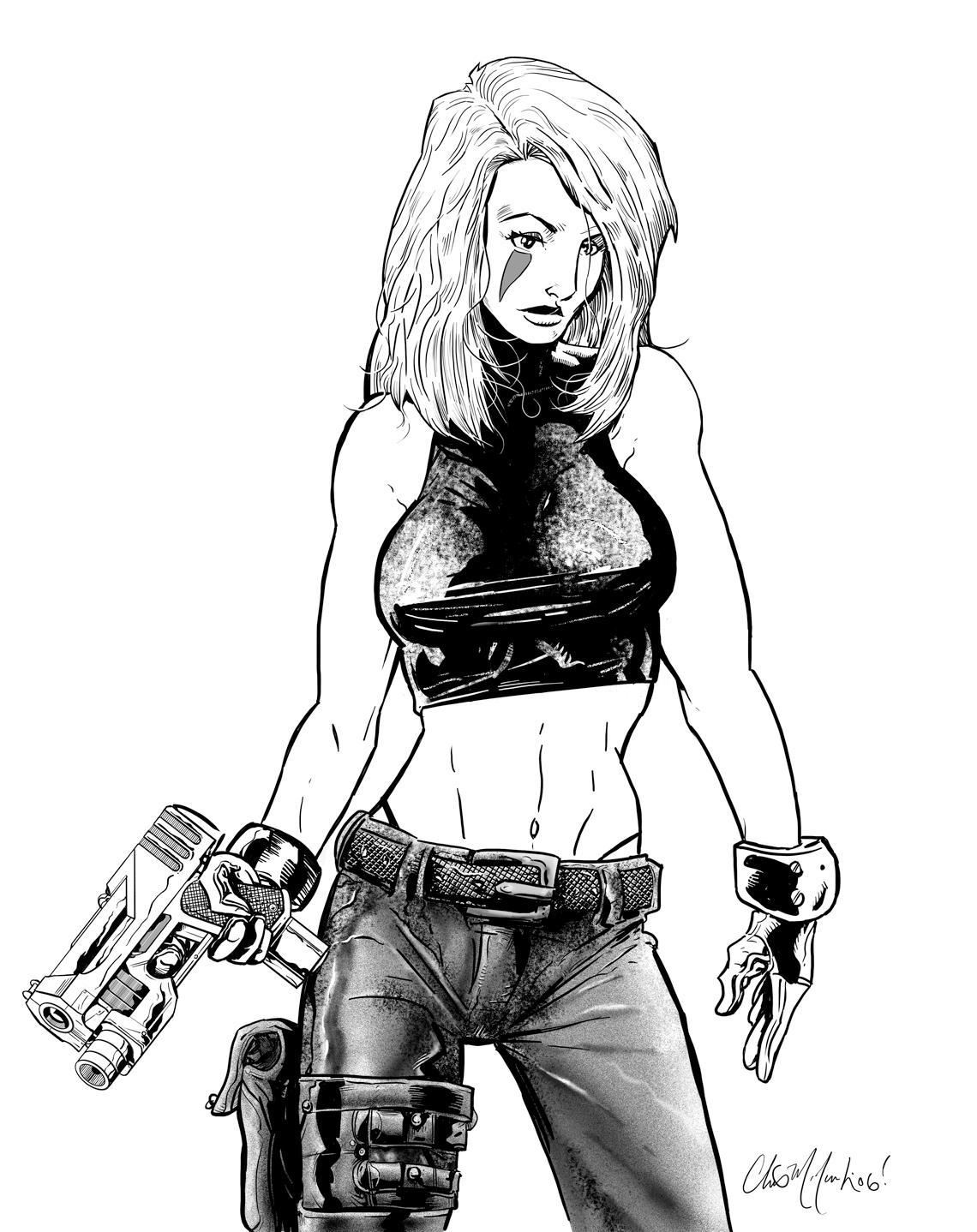 ChrisMcJ: Shyft by ComicArtistsUnite