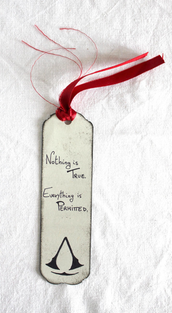 Assassin's Creed Bookmark *ON SALE* by FlaminiaKennedy