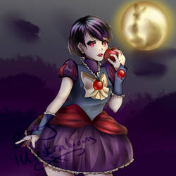 Magical Snow White by BTJ-Illustrations