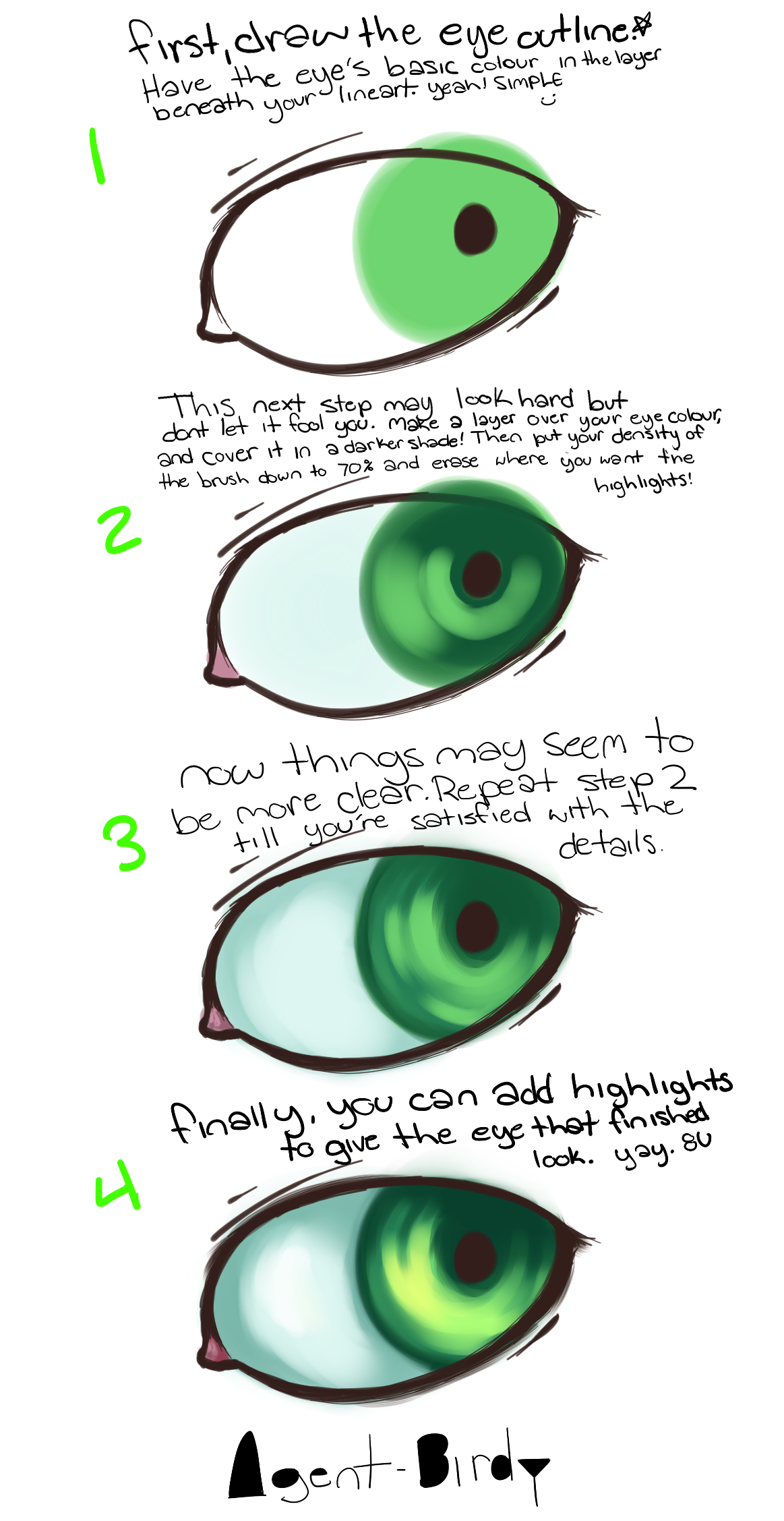 Eye tutorial by Captain-Hotpants