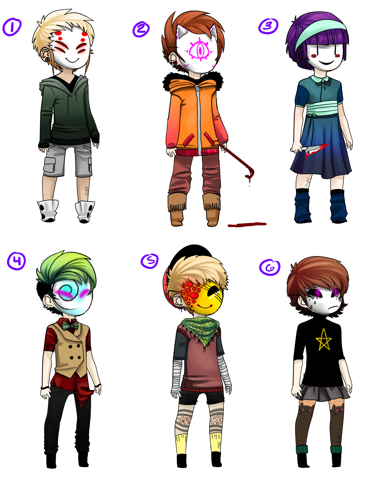 MASK ADOPTS by Captain-Hotpants