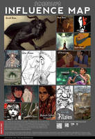 Influence Map by ScaredPrince