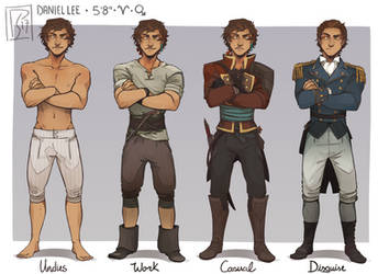 Outfits - Daniel Lee by ScaredPrince