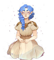 RE: Draw this in your style - Dottea by ScaredPrince