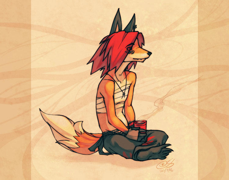 For Lukfox by zii