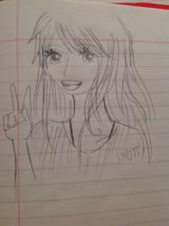 Me: sketch by shadowthehedgehog275