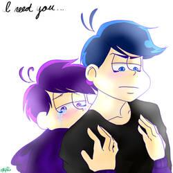 .: Osomatsu-san:. I need you (KaraIchi) by shadowthehedgehog275