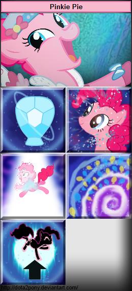 Pinkie Pie, the Faerie Dragon (Pony) - Puck by Dota2Pony